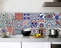 cr馘ence cuisine carreaux de ciment credence multicolore finest credence multicolore with credence