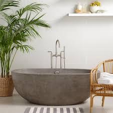avalon 62 inch freestanding soaking tub native trails