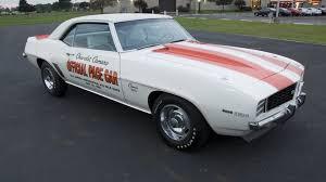 69 camaro pace car 1969 chevrolet camaro z10 indy pace car s33 bob mcdorman