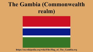 Gambia Flag The Gambia Commonwealth Realm Youtube