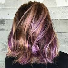 best 25 colored highlights ideas on pinterest plum hair colour