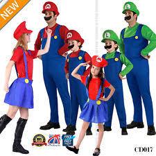 mario and luigi costumes ebay