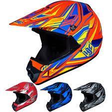 childs motocross helmet hjc cl xy fulcrum youth kids mx atv dirt bike motocross helmets