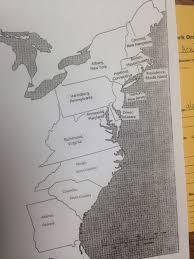 Thirteen Colonies Map Northpointe Intermediate