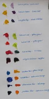 cerulean blue color mixing watercolor mixing charts pinterest