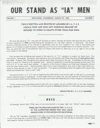 Stagehand Resume Examples by The War For Warner Brothers Iatse Local 728