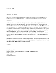 ideas collection recommendation letter from employer for mba on