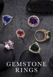 rings gemstones diamonds images Diamond rings certified diamond gold silver rings gemporia uk jpg