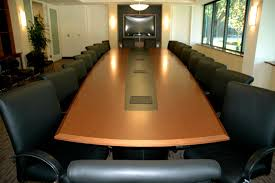 Boat Shaped Boardroom Table Italian Yew Veneer Boardroom Table For Marin Conference Room
