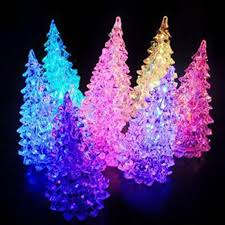 led trees happy holidays