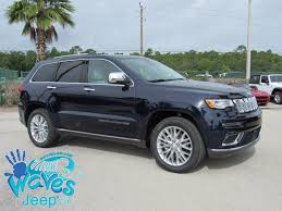 jeep grand cherokee 2017 grey new 2017 jeep grand cherokee summit sport utility in daytona beach