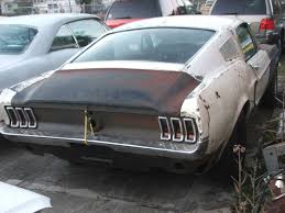 mustang restoration project for sale 1967 mustang fastback 7t02c210399 project car for sale photos