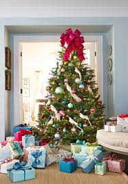 better homes and gardens christmas decorations decorating christmas trees traditional home christmas glamor
