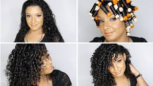 pictures of cute crosdressers having their hair permed how to perfect perm rod set on natural curly hair tutorial youtube