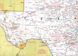 Old Texas Map Map Of West Texas My Blog