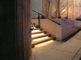 stair lights led indoor uk best staircase lighting images on ideas