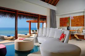 the exotic w retreat u0026 spa maldives with luxury bungalows