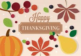 free vector thanksgiving background free vector