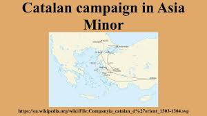 Asia Minor Map Catalan Campaign In Asia Minor Youtube