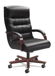 Big Man office chair wide seat 350 leather tall back lazboy