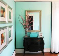 tiffany blue paint color transitional bedroom benjamin moore
