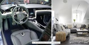 cars homes talking interior design with robin page of volvo scandinavian style statement