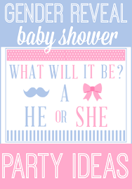 reveal baby shower gender reveal baby shower ideas printables for kids