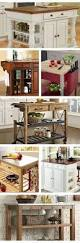 Moveable Kitchen Islands Farmhouse Kitchen Island With Wheels Home Pinterest