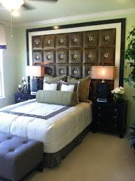 Faux Headboard Ideas by Headboard Is Made With Faux Leather Tiles There Are A Ton Of Faux