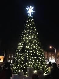 plainfield holds its annual lights celebration santa