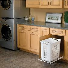 Pull Out Laundry Cabinet Tilt Out Hamper Cabinet Double Or Triple Tilt Out Trash Bin Tilt