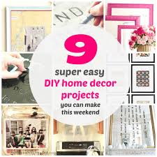 zen shmen 9 super easy diy home decor projects you can make this