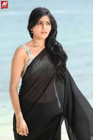 transparent saree photos