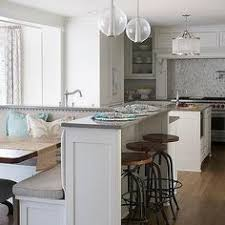 kitchen island dining kitchen island with l shaped dining banquette houses