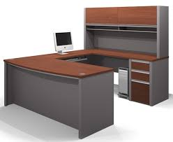connexion u shaped desk with hutch bestar complete selection