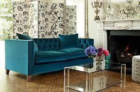 Blue Velvet Chesterfield Sofa Chesterfield Sofas And Handmade In Uk