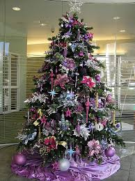 purple christmas tree christmas trends 2011 designshell