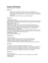 Fake Work Experience Resume Fake Resume Uxhandy Com