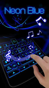 go keyboard theme apk neon blue go keyboard theme android apps on play