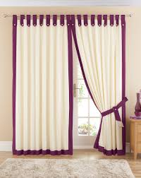room design curtain blinds with elegant curtains and cotton tab