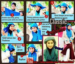 tutorial pashmina dian pelangi hijab cantik tutorial hijab pashmina in two minutes classic look by
