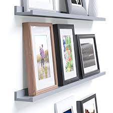 Wall Shelves Amazon by Amazon Com Denver Modern Floating Wall Ledge Shelf For Pictures