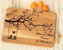 personalized cutting board wedding personalized cutting board wedding gift forcouple gift