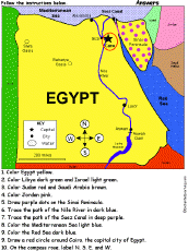 egypt enchantedlearning com