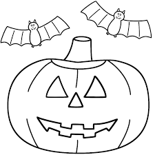 jack o lantern coloring pages halloween coloringstar