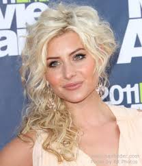 hairstyles short one sie longer than other aly michalka with her hair up so that it appears short on one side