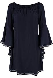 union of angels tatiana bell sleeve dress pinto ranch