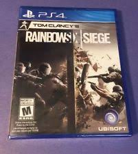 siege sony tom clancy s rainbow six siege bonus sony playstation 4 2015 ebay