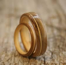 wooden wedding rings mountain ash wood wedding rings bentwood rings