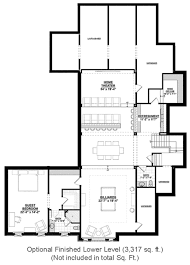 wine cellar floor plans country style house plan 4 beds 4 5 baths 4852 sq ft plan 928 1